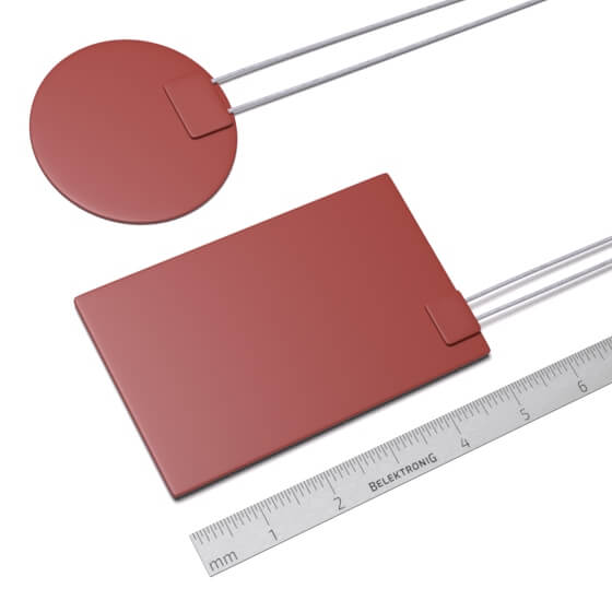 Sample image of an analogue temperature sensor of the LM60 sensor family